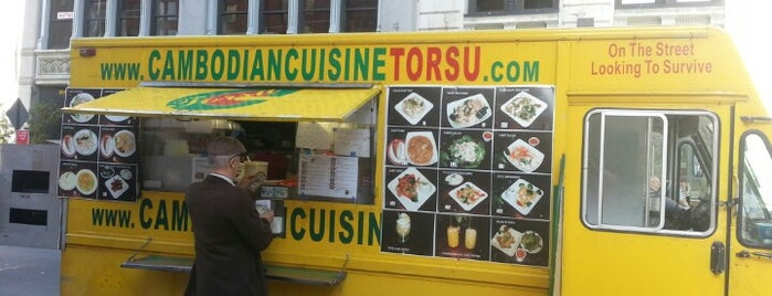 Cambodian Cuisine is one of 5-Block Food Radius from Greenwich Village Apt.
