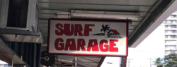 Surf Garage is one of Favorites - Stores.