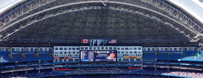 Rogers Centre is one of Dan's Places.