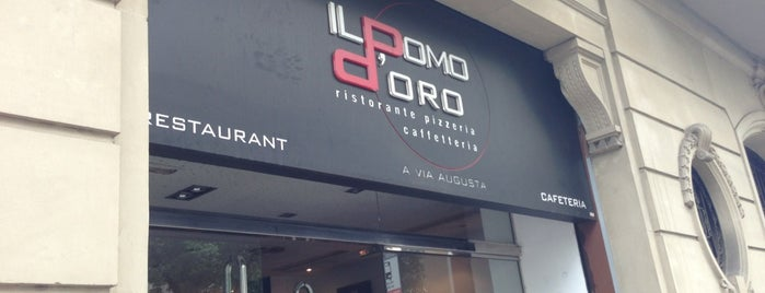 Il Pomo D'Oro Via Augusta is one of Bars & Restaurants, II.