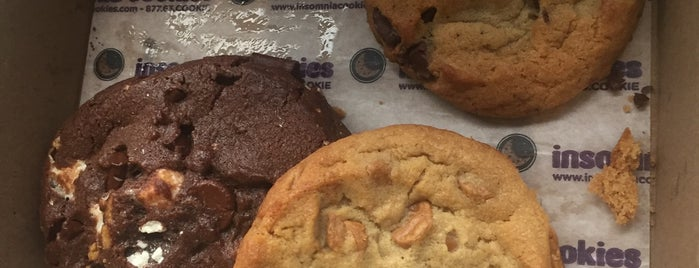Insomnia Cookies is one of Wish List: Woman vs Food Edition.