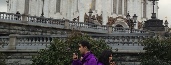 Трапезная при Храме Христа Спасителя is one of Москва. Есть и пить.