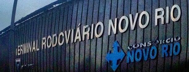 Novo Rio Bus Terminal is one of Rio de Janeiro.