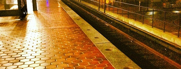 Braddock Road Metro Station is one of WMATA Train Stations.