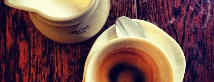 Cafés Verlet is one of Lloyd's Paris.