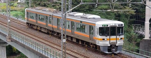 坂下駅 is one of 中央線(名古屋口).