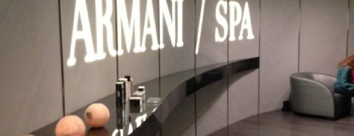 Armani SPA is one of Dubai.
