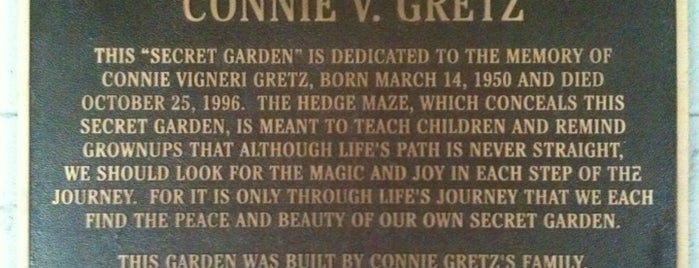 Connie Gretz Secret Garden is one of NY.