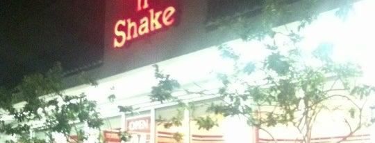Steak 'n Shake is one of Peewee's Big Ass South Florida Food Adventure!.