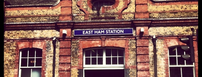 East Ham London Underground Station is one of District Line.