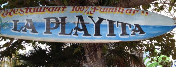 Restaurante La Playita is one of Puerto Morelos.