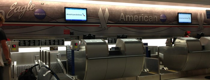 American Airlines is one of Viajes.