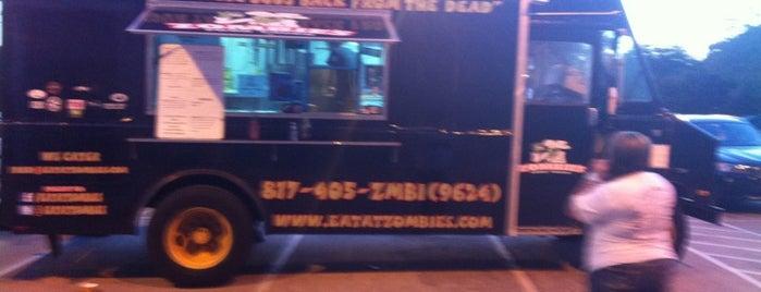 Zombie's Food Truck is one of Dallas Vegan Restaurants.