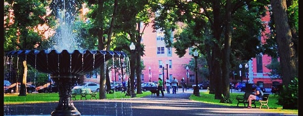 Franklin Square Park is one of Boston.