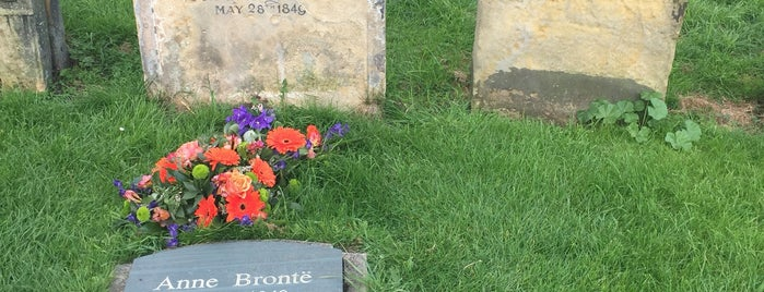 Anne Bronte's Grave is one of Things to do in Scarborough.