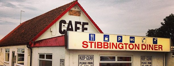 Stibbington Diner is one of Truckstops And Other Places To Park Overnight.