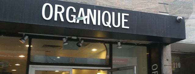 Organique is one of Lunch.