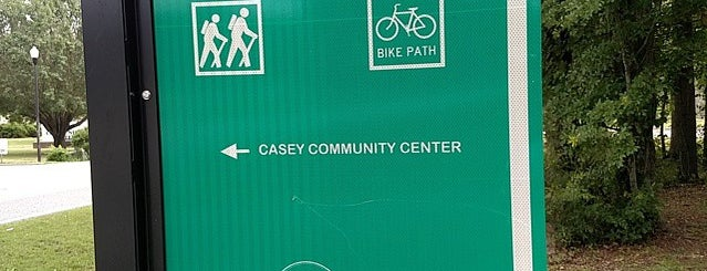 Casey Community Center is one of Places in the Lowcountry to take my nephew.