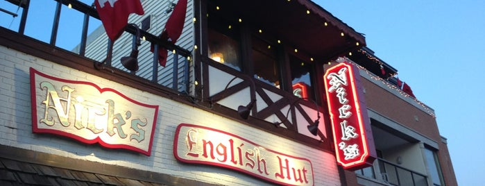 Nick's English Hut is one of BTown.