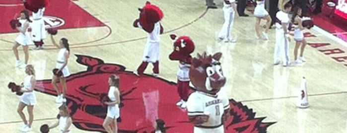 Bud Walton Arena is one of Venues....