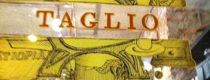 Taglio is one of Milano food.