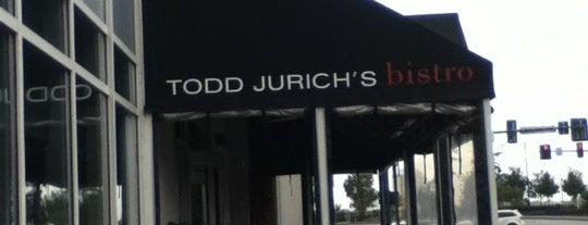 Todd Jurich's Bistro is one of Favorite Restaurants in Tidewater.