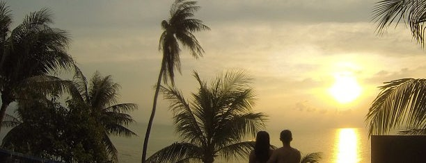 Conrad Koh Samui is one of Ko Samui Paradise = Peter's Fav's.