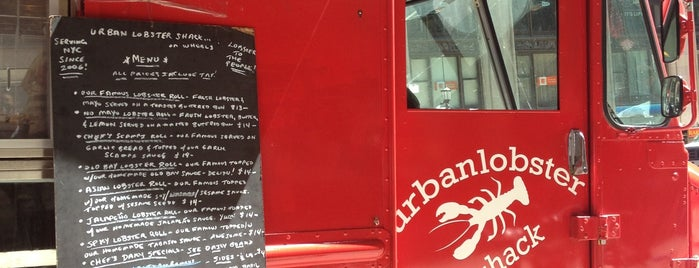 Urban Lobster Shack On Wheels is one of Mid 40-50s.