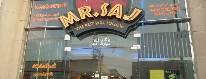 Mr. Saj is one of مطاعم.