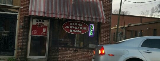 The Big Apple Inn is one of Places to Eat.