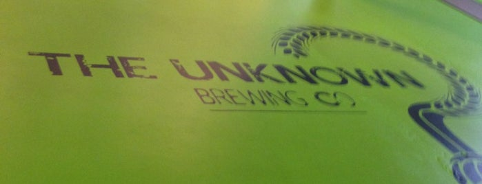 Unknown Brewing Co. is one of Craft Beer & Breweries.