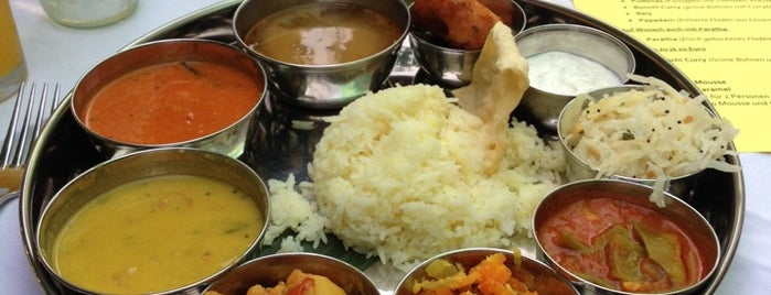 café initial/thali is one of Favorite Food.