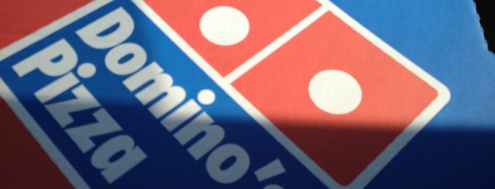 Domino's Pizza is one of The Ultimate Student Guide to Bournemouth.