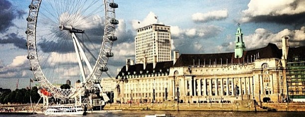 The London Eye is one of London calling.