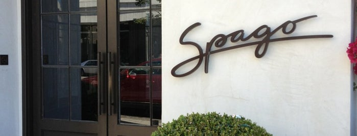 Spago Beverly Hills is one of CIA Alumni Restaurant Tour.