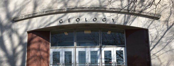 Geology Building is one of CASA.