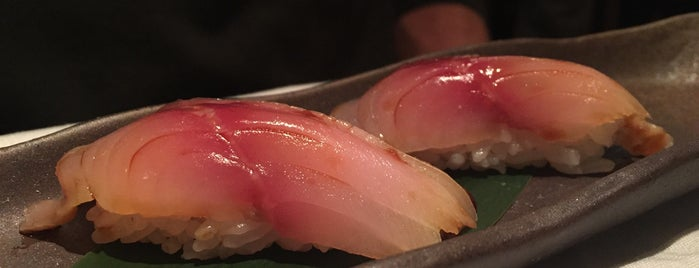 Soto is one of NYC Michelin Star Sushi - 2017.
