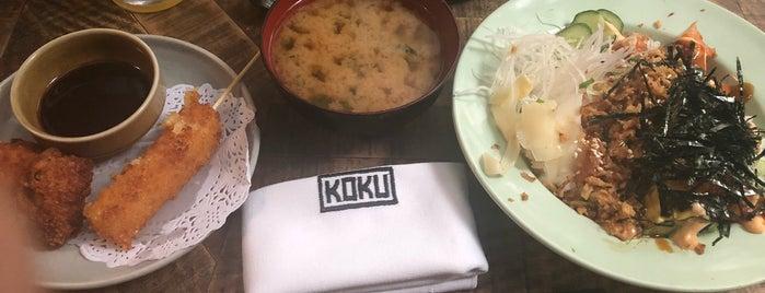KOKU is one of Comida japonesa y más.