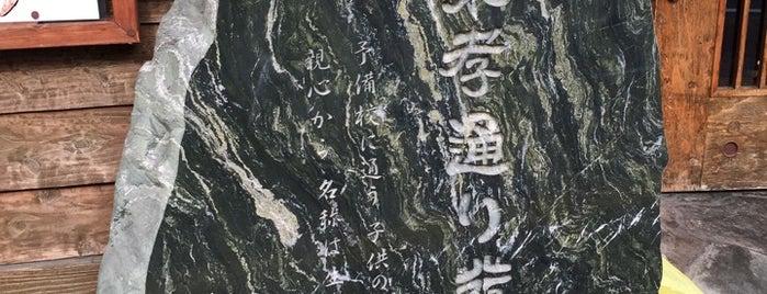 親不孝通り発祥の地 is one of 近現代.