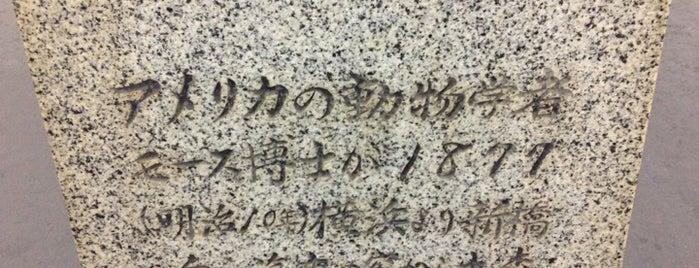 日本考古学発祥の地の碑 is one of 近現代.