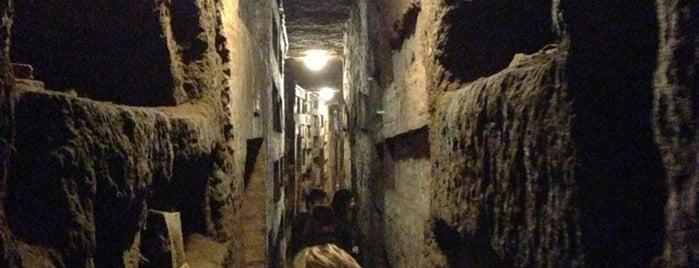 Catacombe di San Callisto is one of La Dolce Vita - Roma #4sqcities.