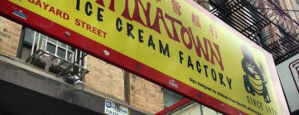 The Original Chinatown Ice Cream Factory 華埠雪糕行 is one of NYC (-23rd): RESTAURANTS to try.
