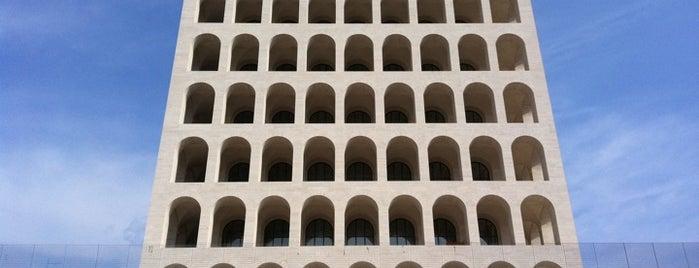 Palazzo della Civiltà e del Lavoro is one of ZeroGuide • Roma.