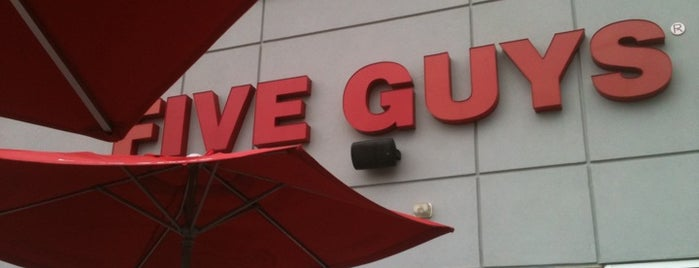 Five Guys is one of Favorite Food.