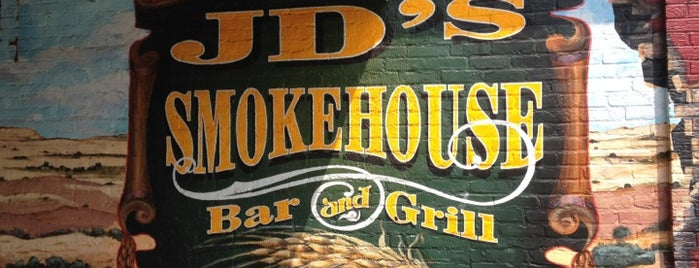 JD's Smokehouse Bar & Grill is one of Canton Restaurants, Bars, and Taverns.
