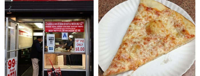 99¢ Fresh Pizza is one of Laturr / Dolla Slice.
