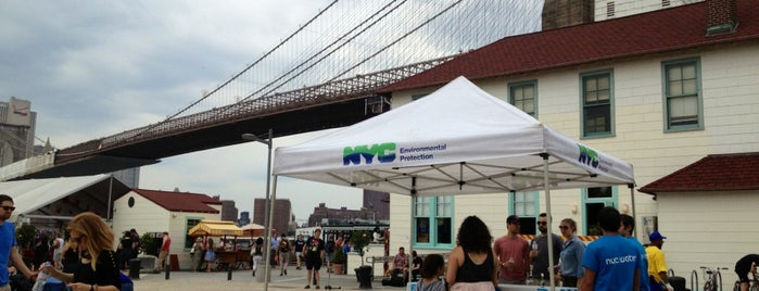 Water-On-the-Go at Brooklyn Bridge Park is one of Water-On-The-Go Stations.