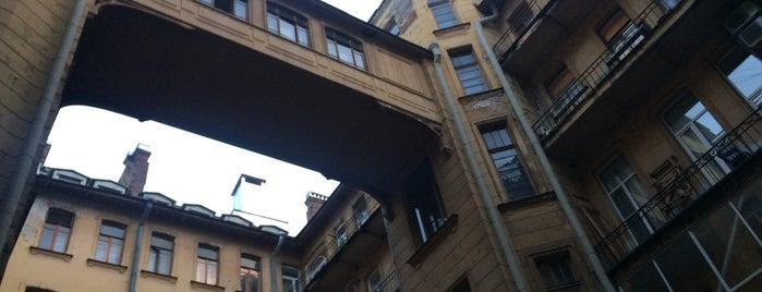 Доходный дом Ю.Б. Бака is one of Интересное в Питере.