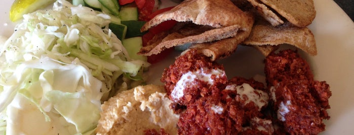 Foxy Falafel is one of Gluten-Free Dining Options.