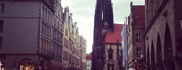 Ludgeriplatz is one of Münster - must visit.